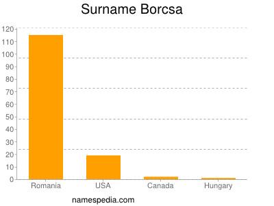 Surname Borcsa