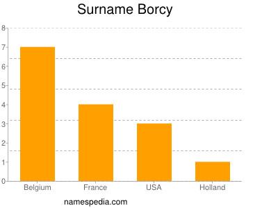 Surname Borcy