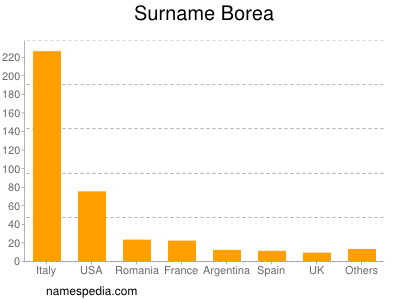 Surname Borea