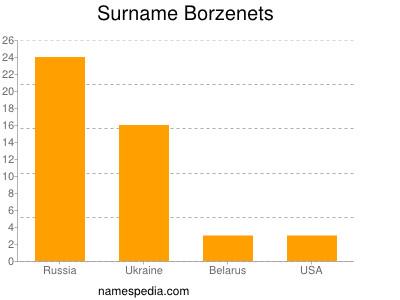 Surname Borzenets