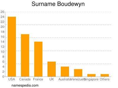 Surname Boudewyn