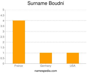 Familiennamen Boudni
