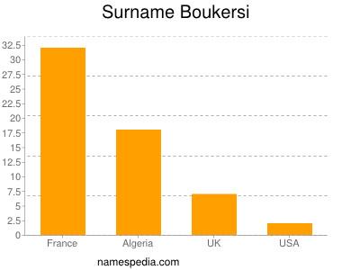 Surname Boukersi