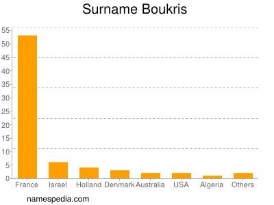 Familiennamen Boukris