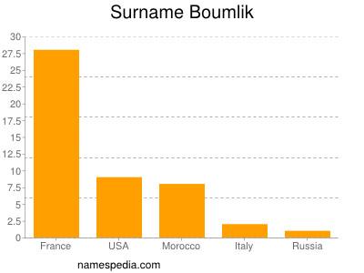 Surname Boumlik