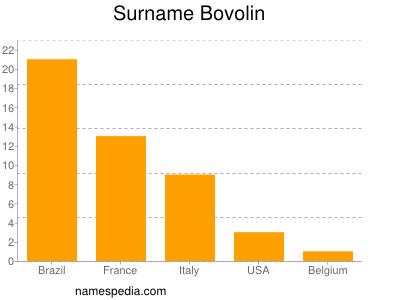 Surname Bovolin