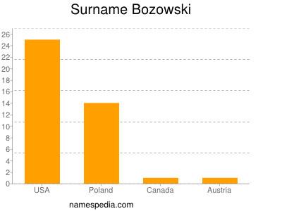 Surname Bozowski