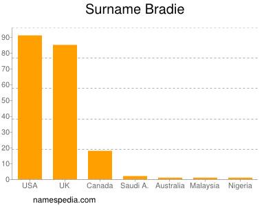 Surname Bradie