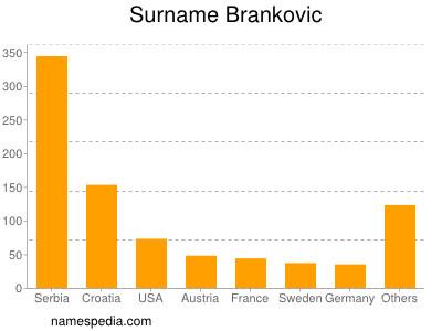 Surname Brankovic