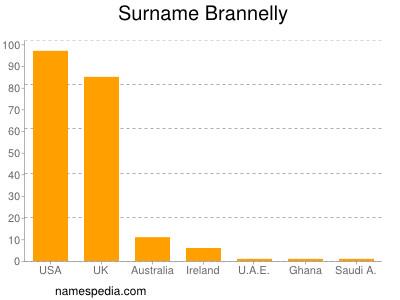 Brannelly Estad 237 Sticas Y Significado Del Nombre Brannelly
