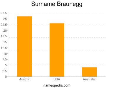 Surname Braunegg