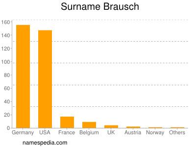 Surname Brausch