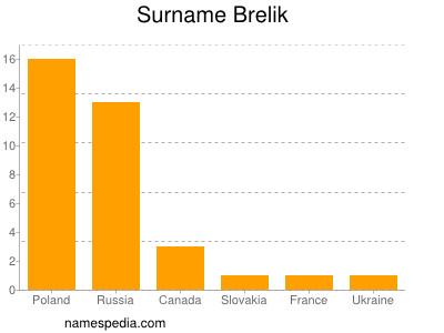 Surname Brelik