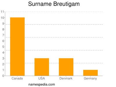 Familiennamen Breutigam