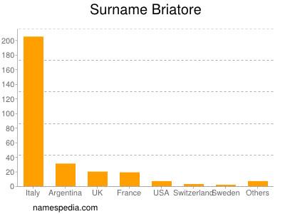 Surname Briatore