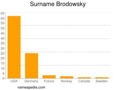 Surname Brodowsky