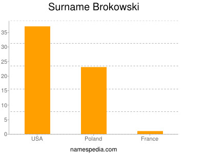 Surname Brokowski