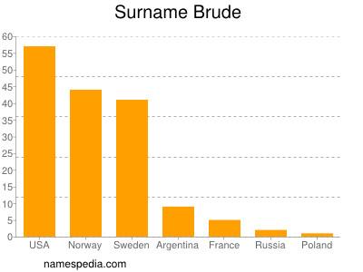 Surname Brude