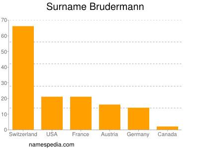 Surname Brudermann