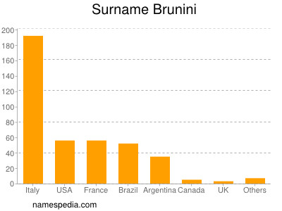 Surname Brunini