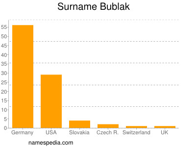 Surname Bublak