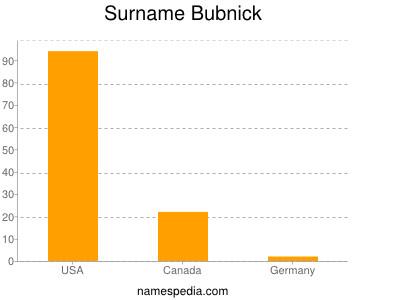 Surname Bubnick