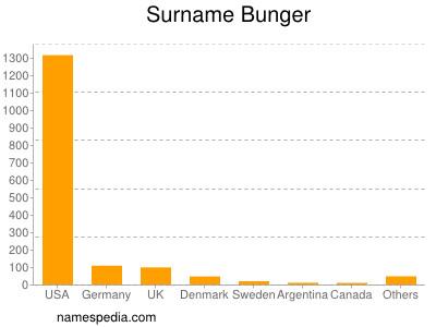 Surname Bunger