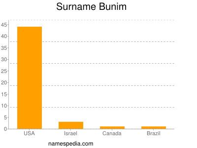 Surname Bunim
