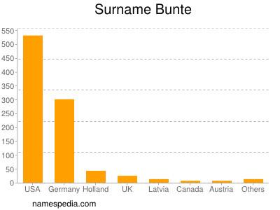 Familiennamen Bunte