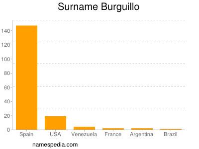 Surname Burguillo
