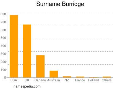 Surname Burridge