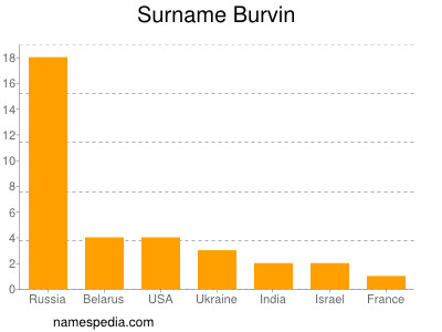 Surname Burvin