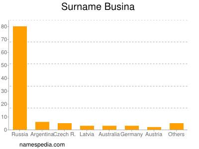 Surname Busina