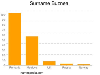 Surname Buznea