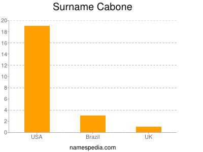 Surname Cabone