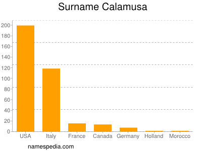 Surname Calamusa