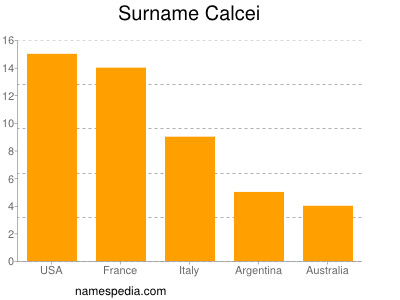 Surname Calcei