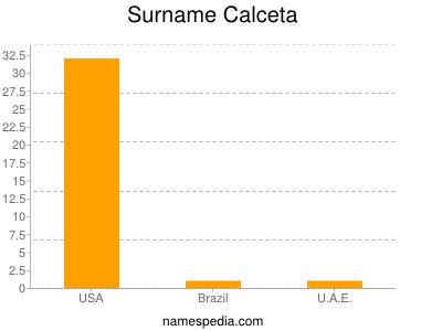 Surname Calceta