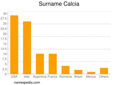 Surname Calcia