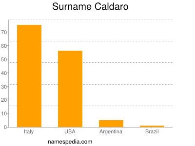 Surname Caldaro