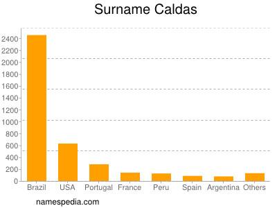 Surname Caldas