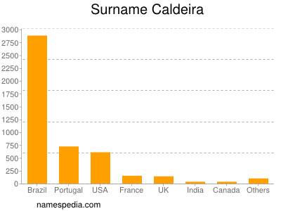 Surname Caldeira