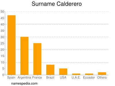Surname Calderero