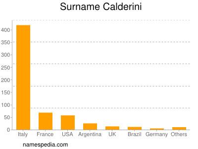 Surname Calderini