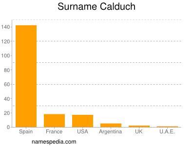 Surname Calduch