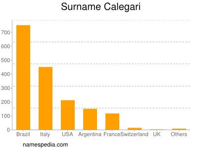Surname Calegari