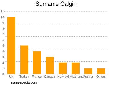 Surname Calgin