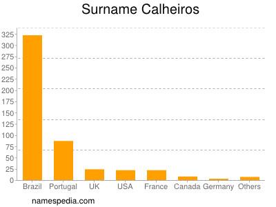 Surname Calheiros