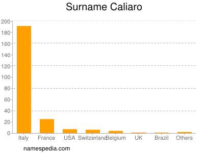 Surname Caliaro