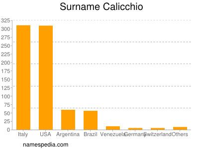 Surname Calicchio